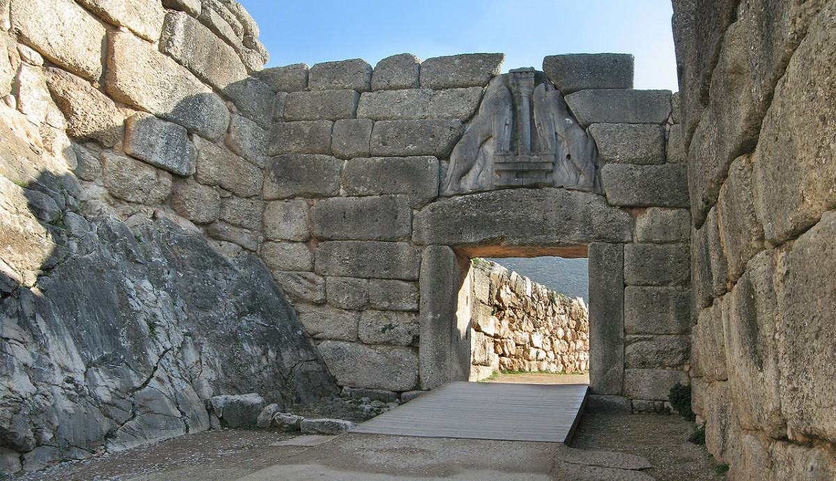 The Lion Gate at Mycenae_Andreas Trepte
